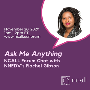 Ask Me Anything Forum Chat with Rachel Gibson, M.S.!